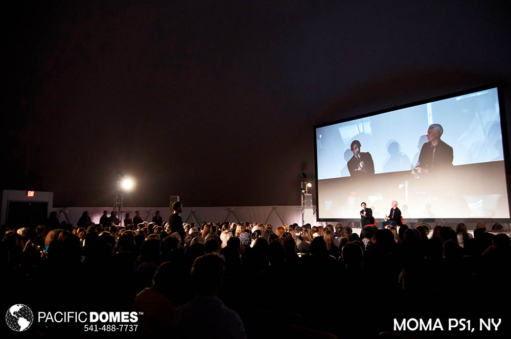 MoMA-PS1-Pacific Domes, geodome event tents, geodesic dome relief tents, disaster relief effors