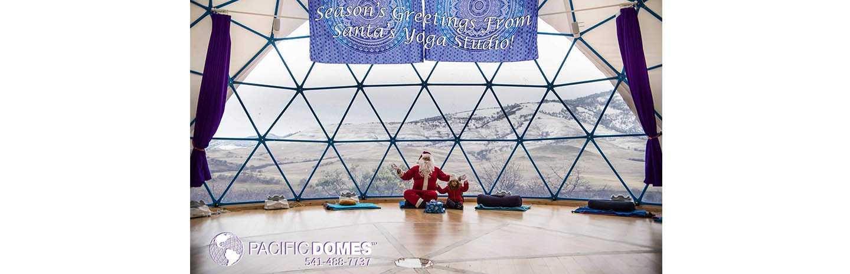 Santa Lives in a Dome