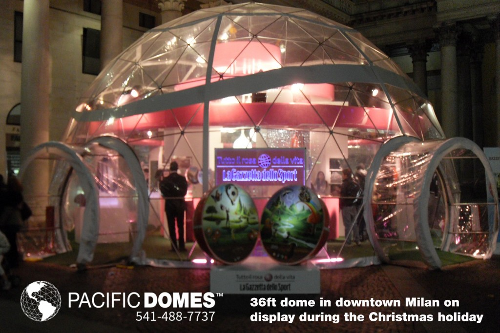 """Tecnodomes–-""""An-All-Pink-Dome"""""""