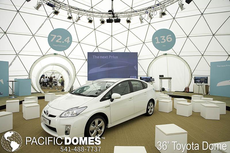 Toyota Prius Dome-Pacific Domes