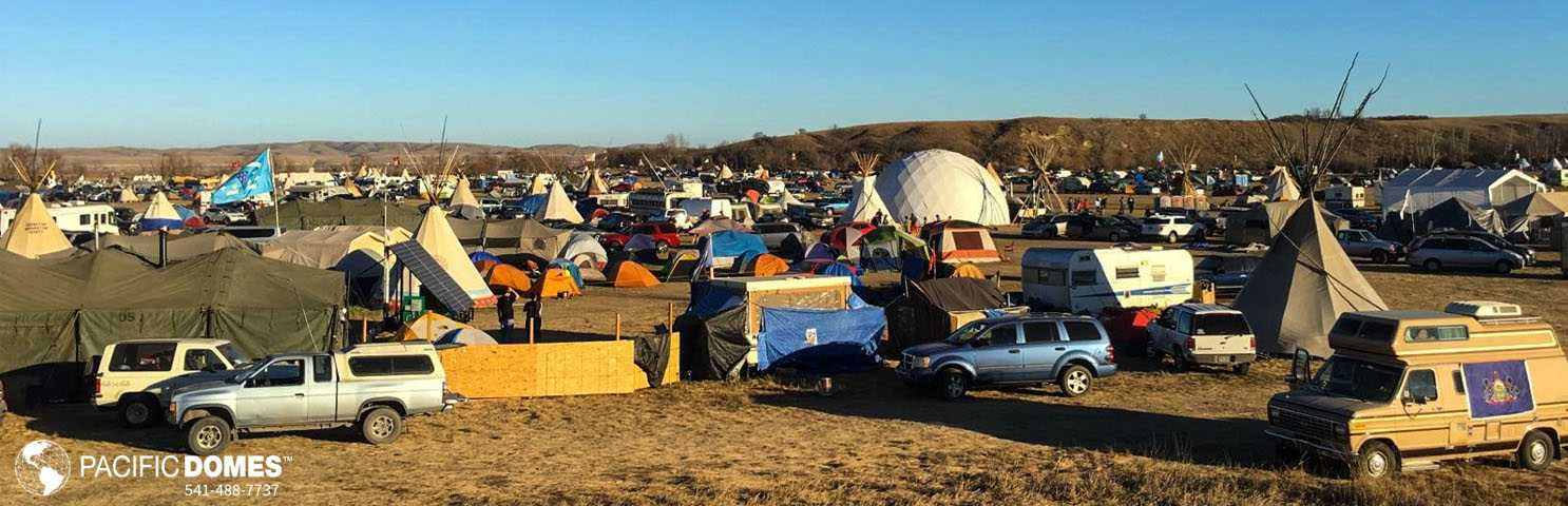 Standing Rock - Pacific Domes