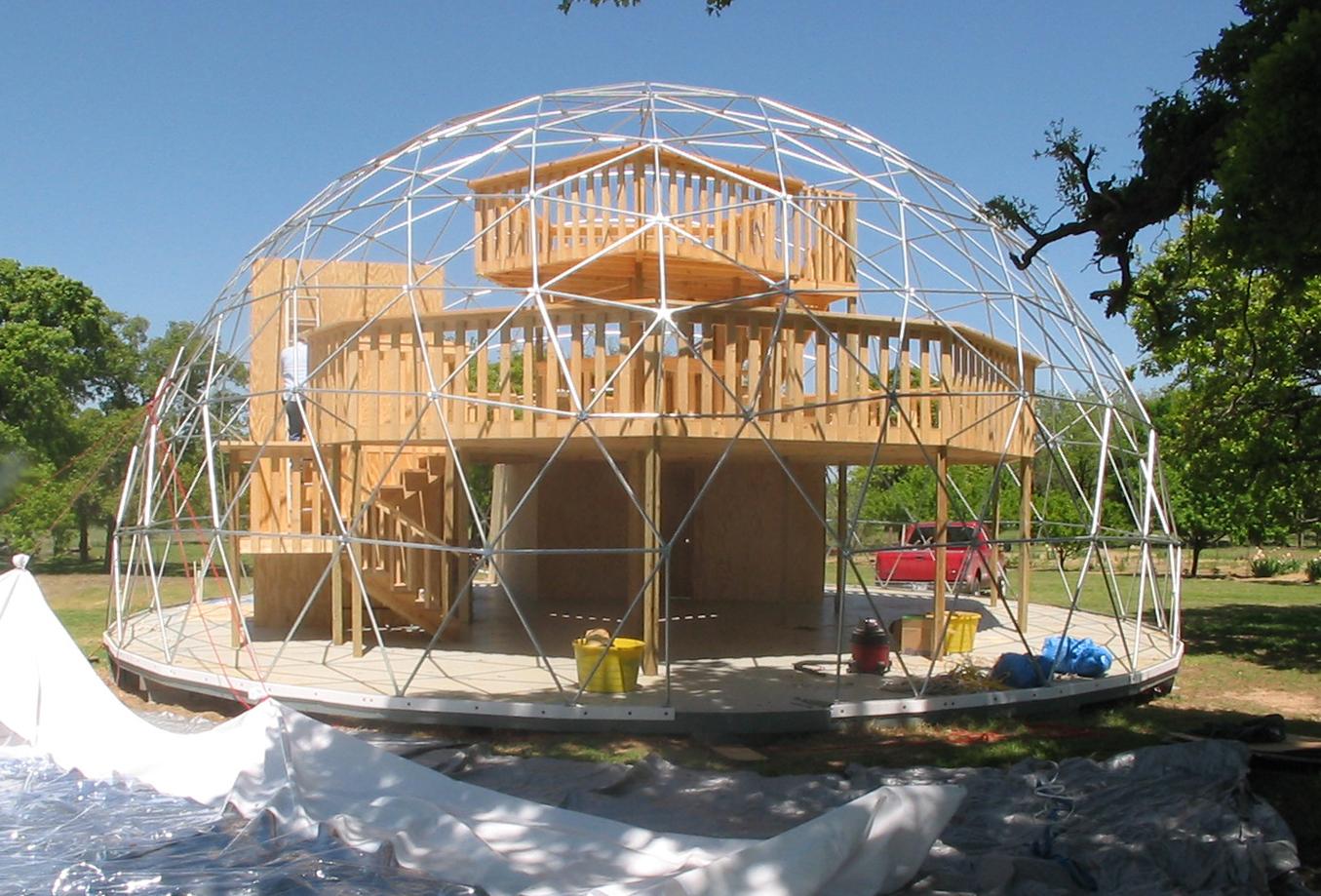prefab dome home kits