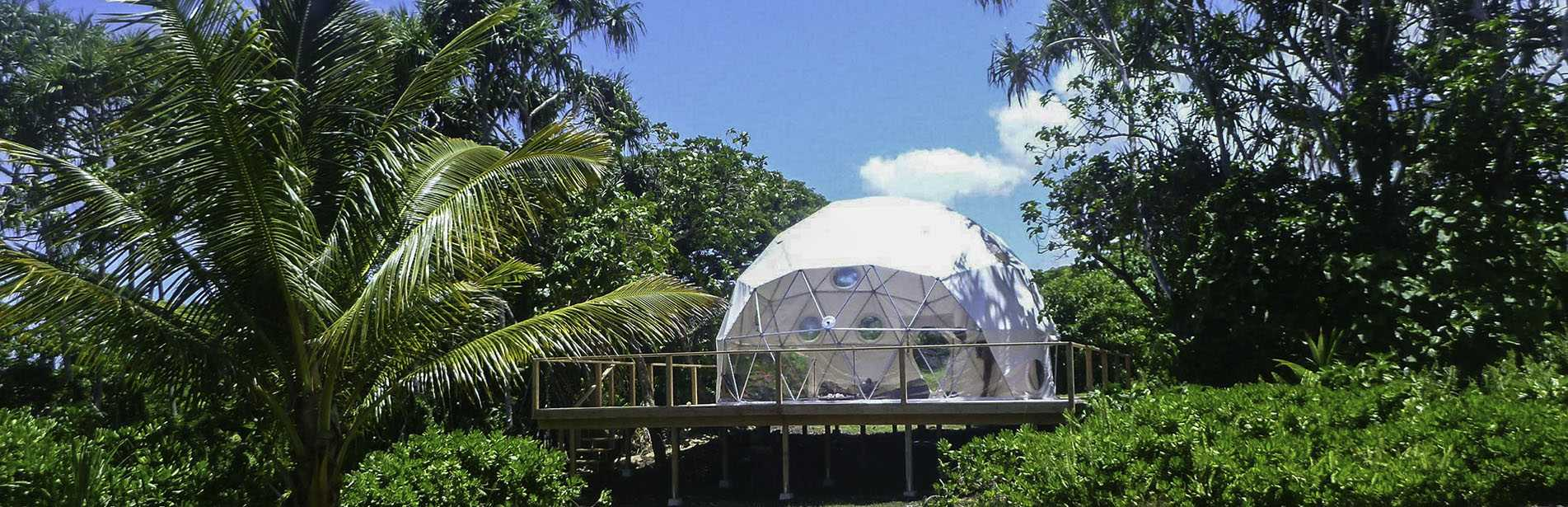 24ft Dome in Hawaii - Pacific Domes