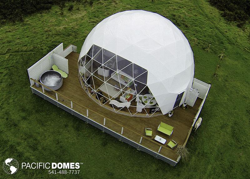 eco dome home building