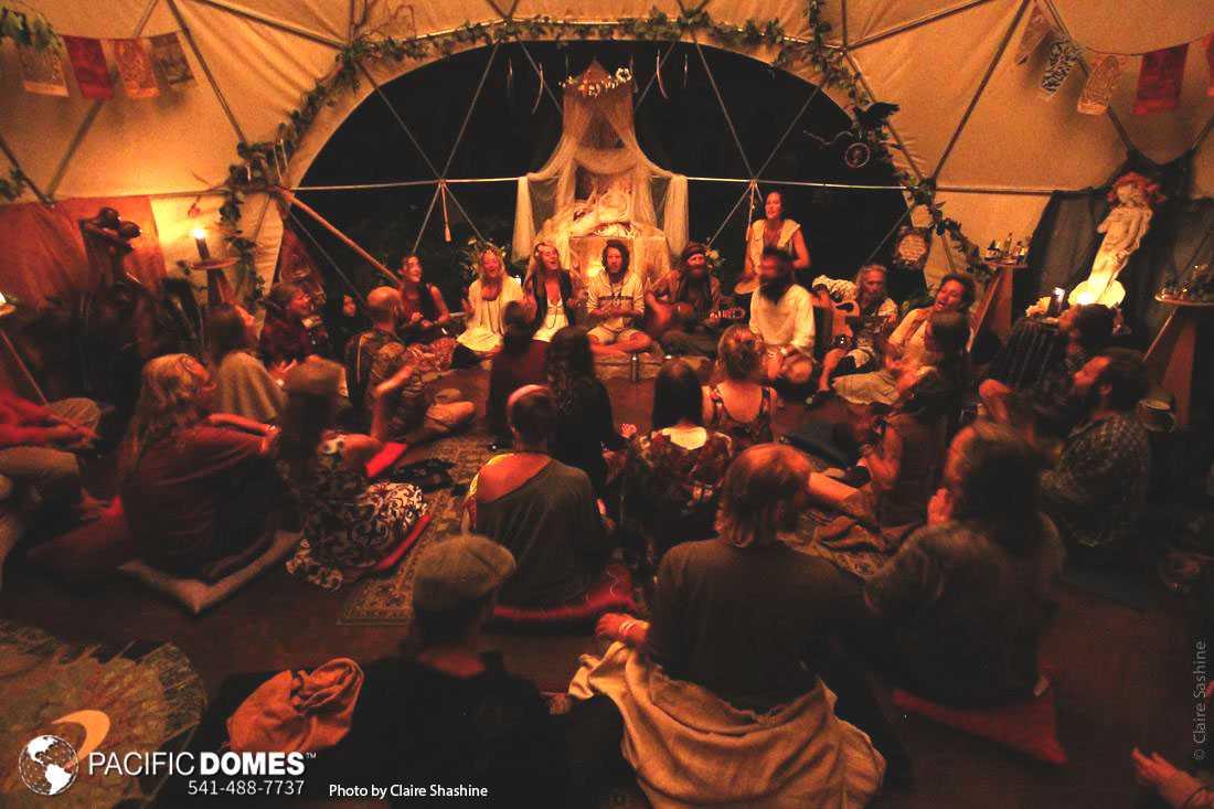 geodesic sacred geometry