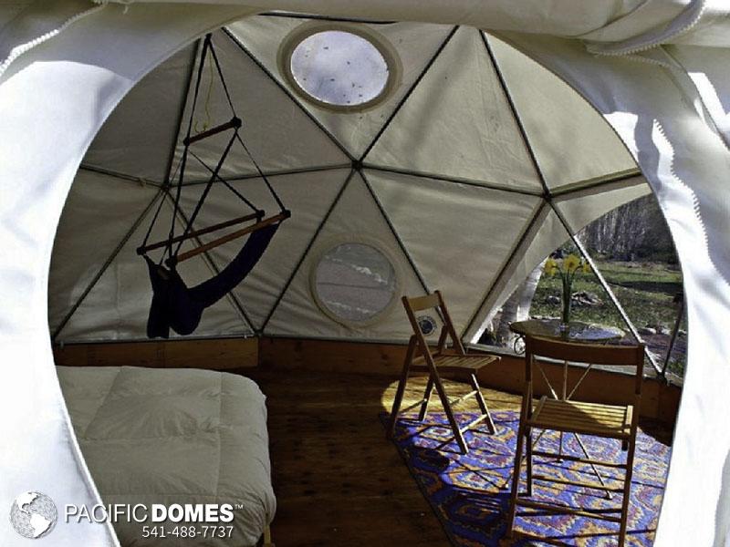 Geodesic Domes on Cape Breton Island