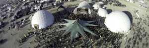 Burning Man Domes