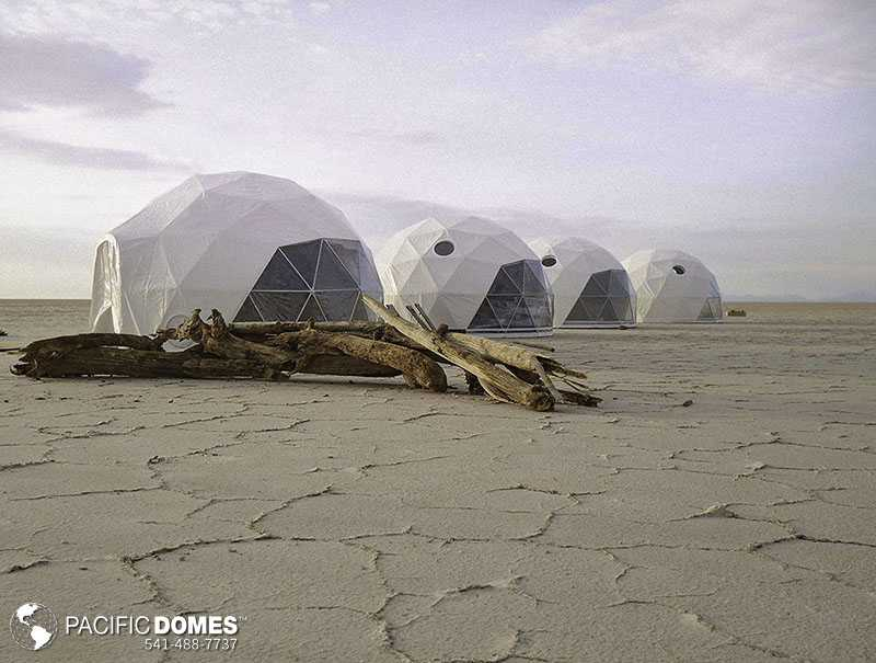glamping tents, sustainable tourism