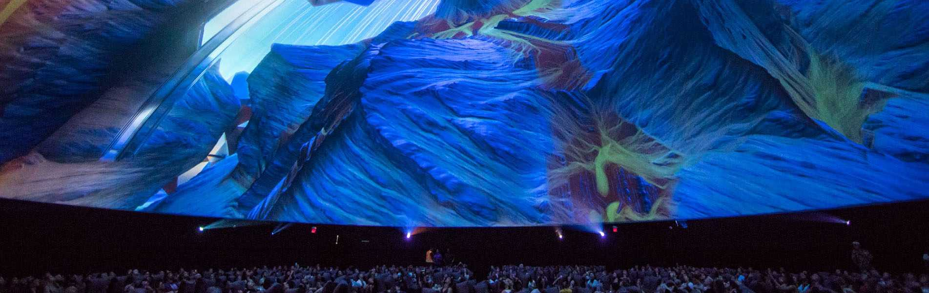 120ft Projection Dome - Pacific Domes