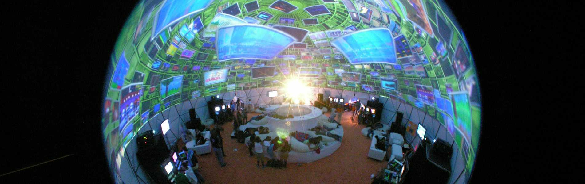Game Tap Projection Dome