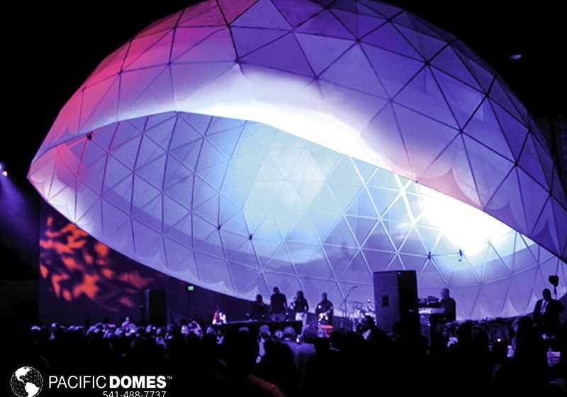 Alicia Keys Amphitheater Dome