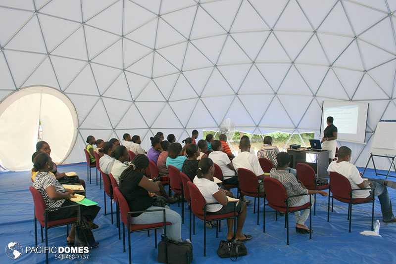 Pacific Domes - Relief Domes Haiti