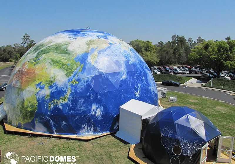 Printed Earth Domes