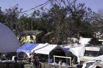 Hurricane Relief Dome