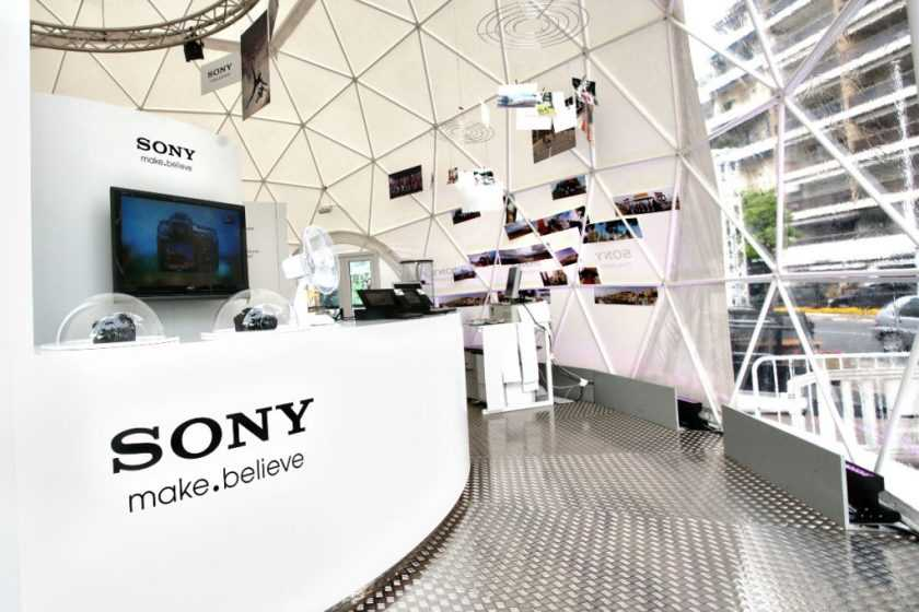 36' Sony Product Launch