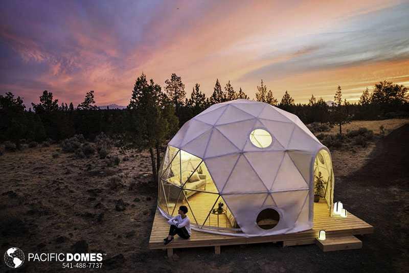 Solar Eclipse Dome