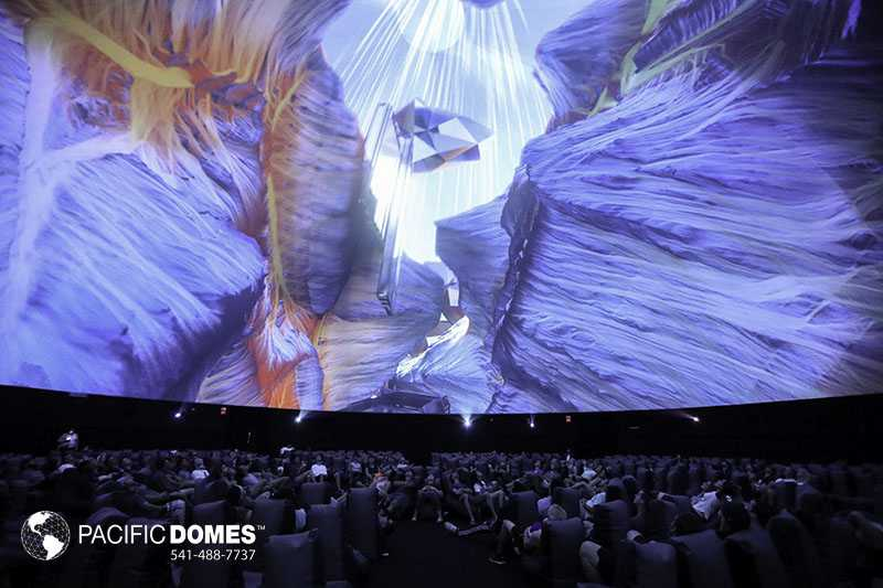 360 projection dome
