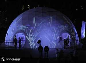 44ft Mac Star Quebec City Music Festival Projection Dome