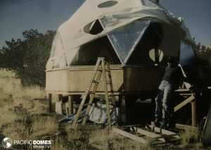 Insulating the Arizona dome home