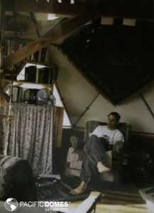 Interior of a dome home
