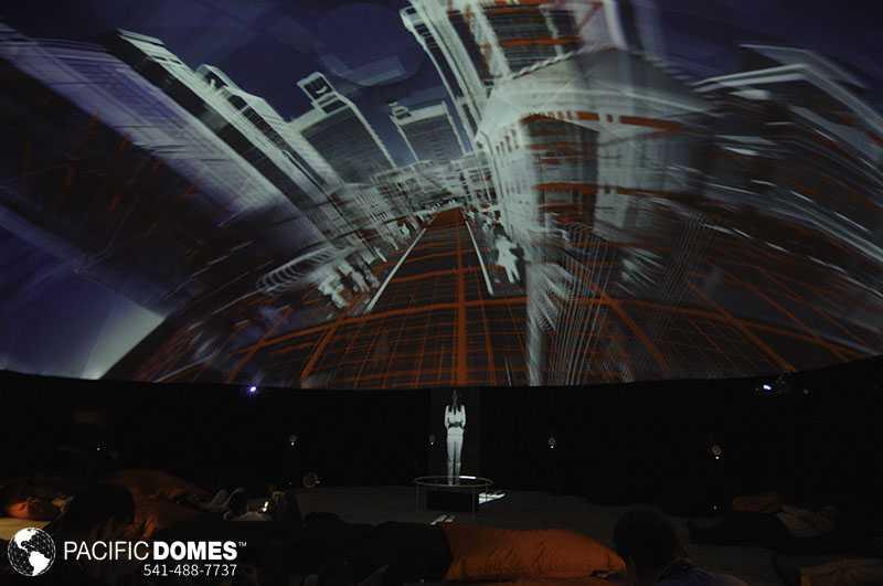 Virtual Reality Dome
