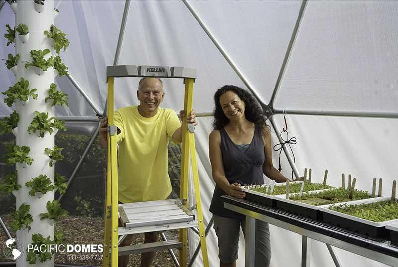 Troy Edwards Canadian grow dome