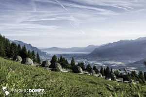 White Pod Domes -Switzerland