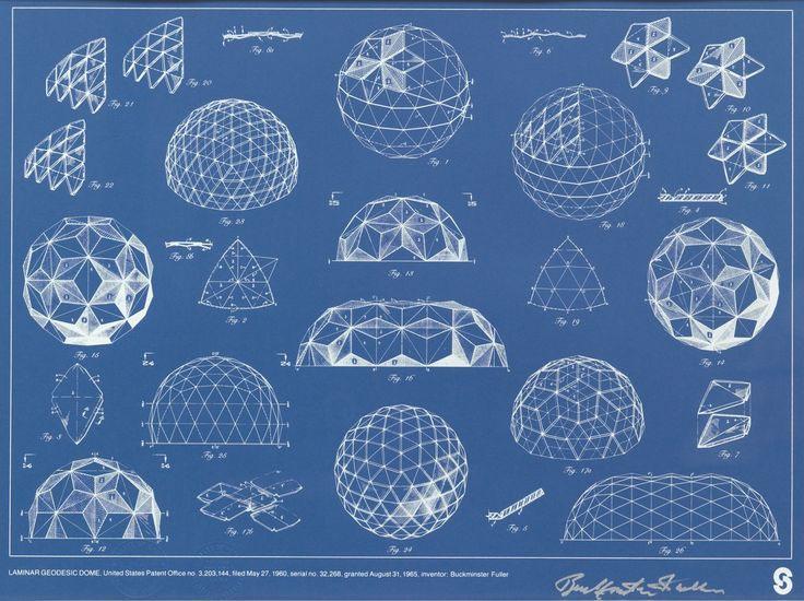 Buckminster Fuller Drawings