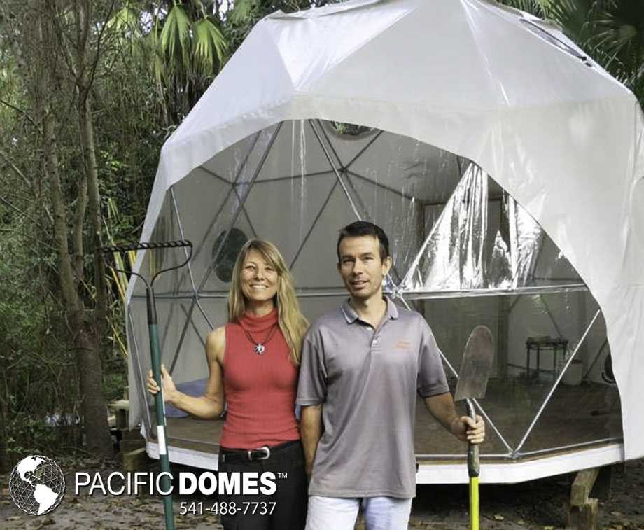 16ft dome tiny living