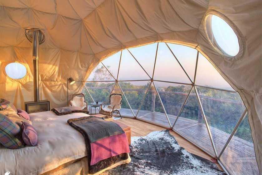 Asilia Africa dome interior