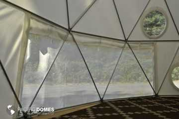 Dome base screen rollup