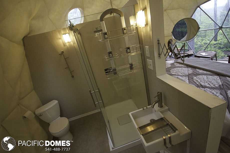 Ridgeback dome bathroom