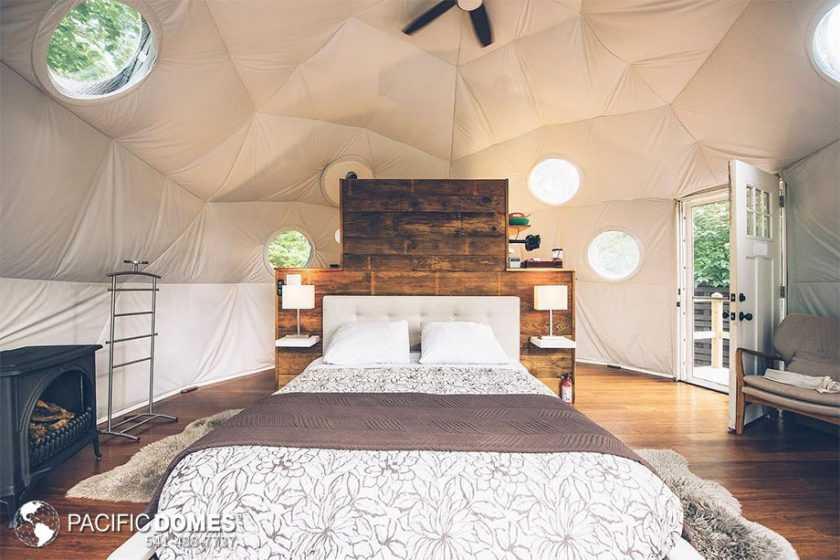 Ridgeback dome interior