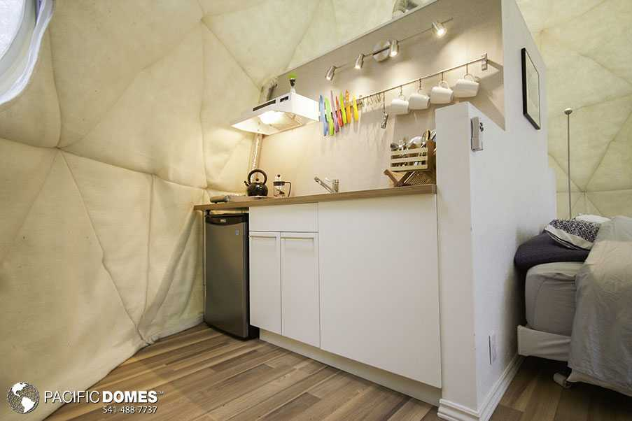 Ridgeback dome kitchen
