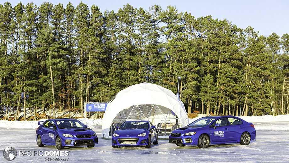Subaru promo dome