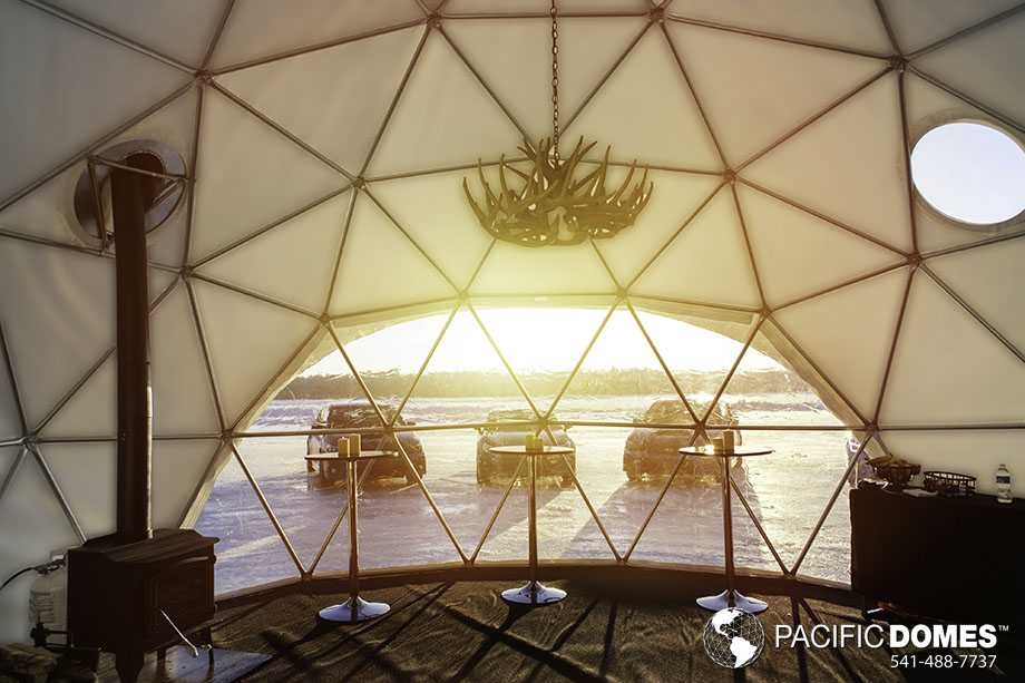 Warming hut dome