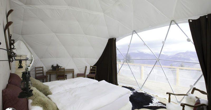 White Pod Dome Winter Liner