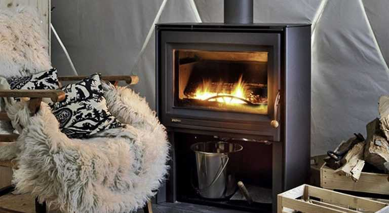 Wood stove Pacific Domes