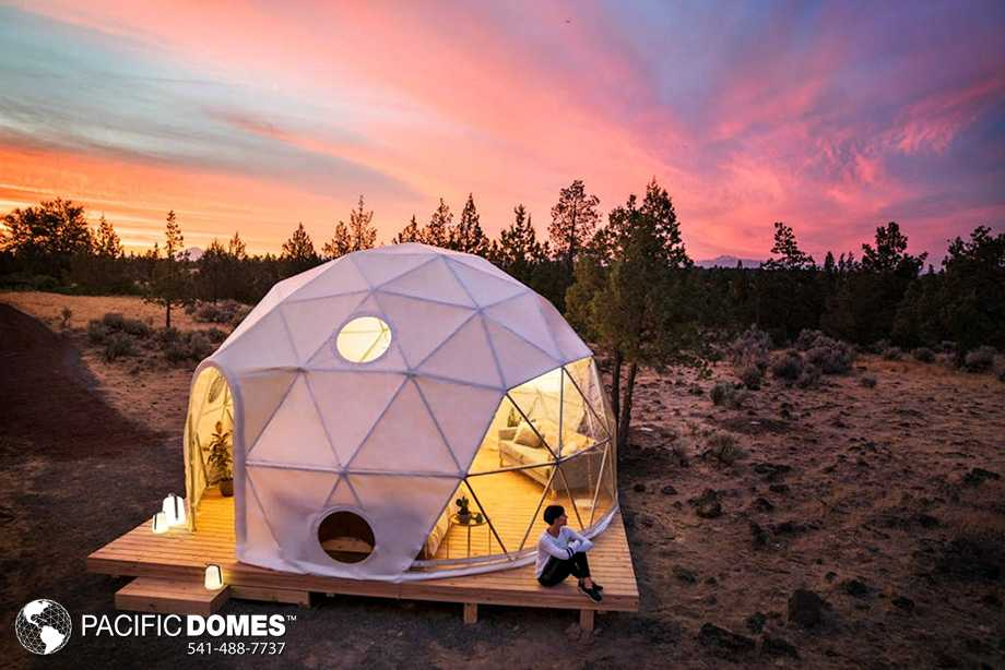 Glamping- Dome - Pacific Domes