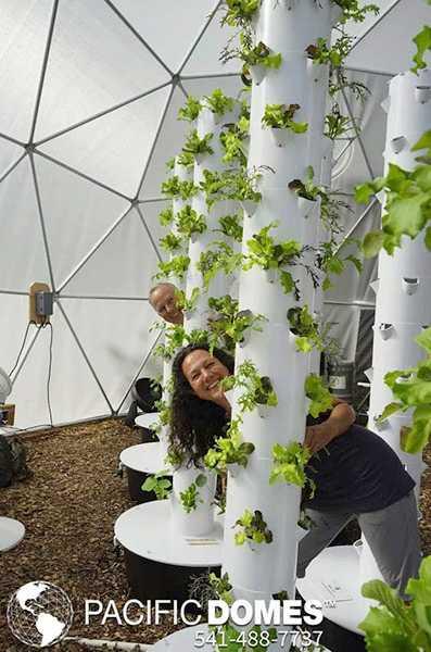 Greenhouse  dome - Pacific Domes