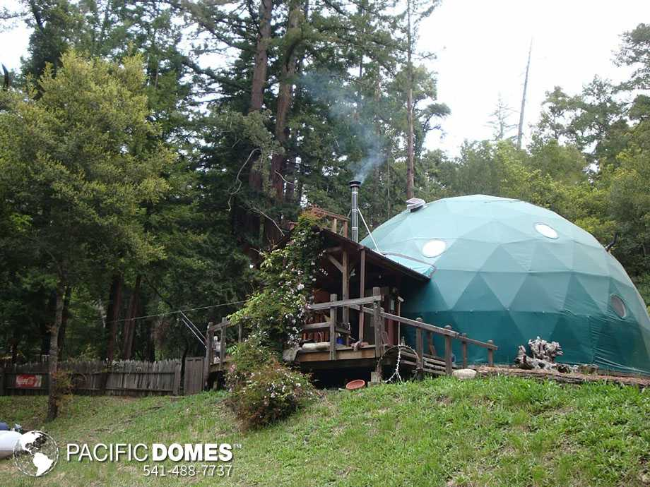 30ft dome home - Pacific Domes