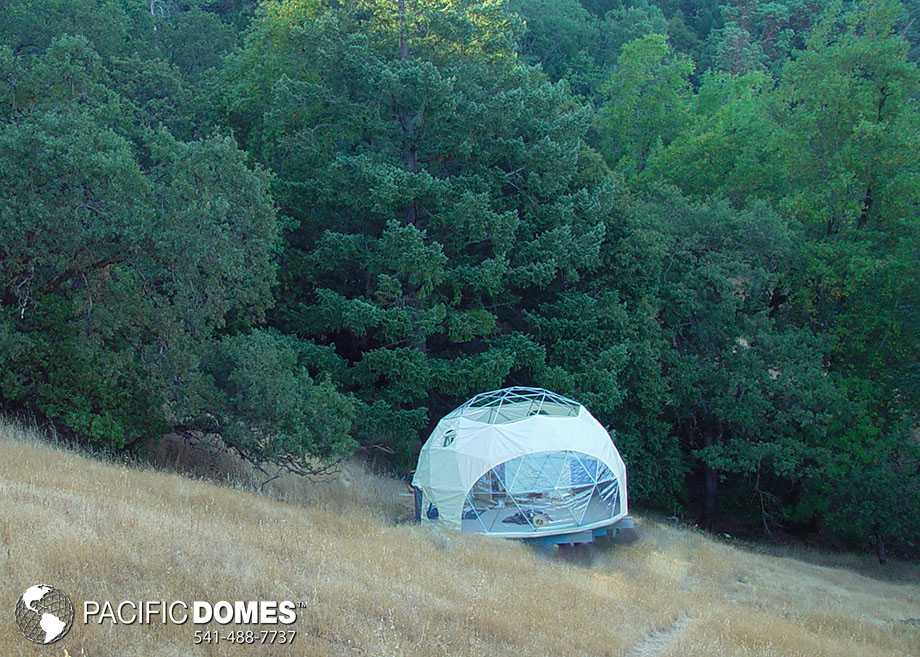 24ft Geodesic Dome Home