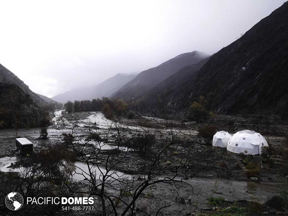 connected dome homes