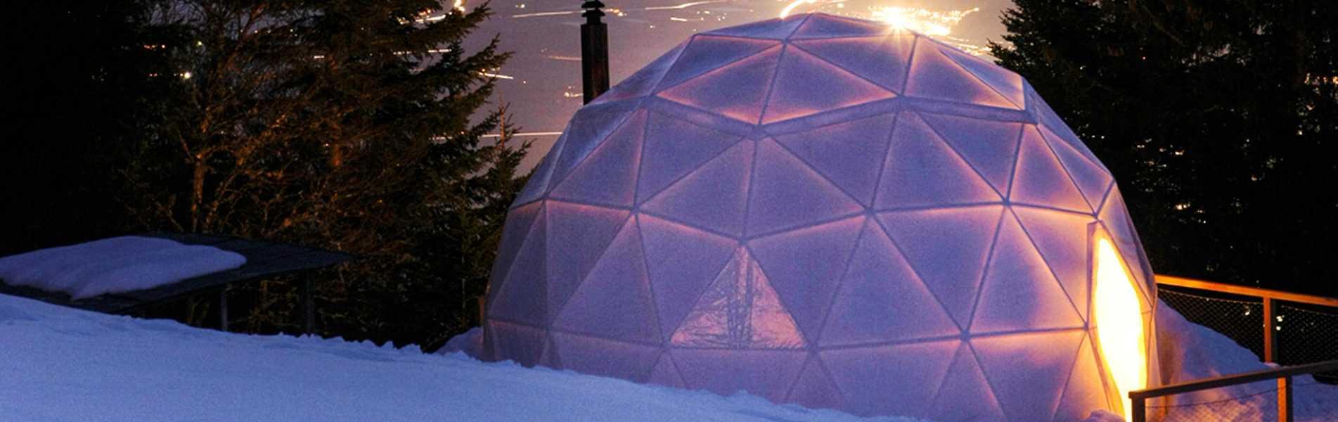 Dome home in Swizterland