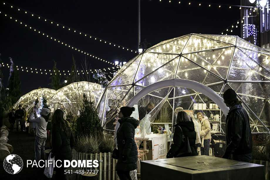 pop-up domes for rent