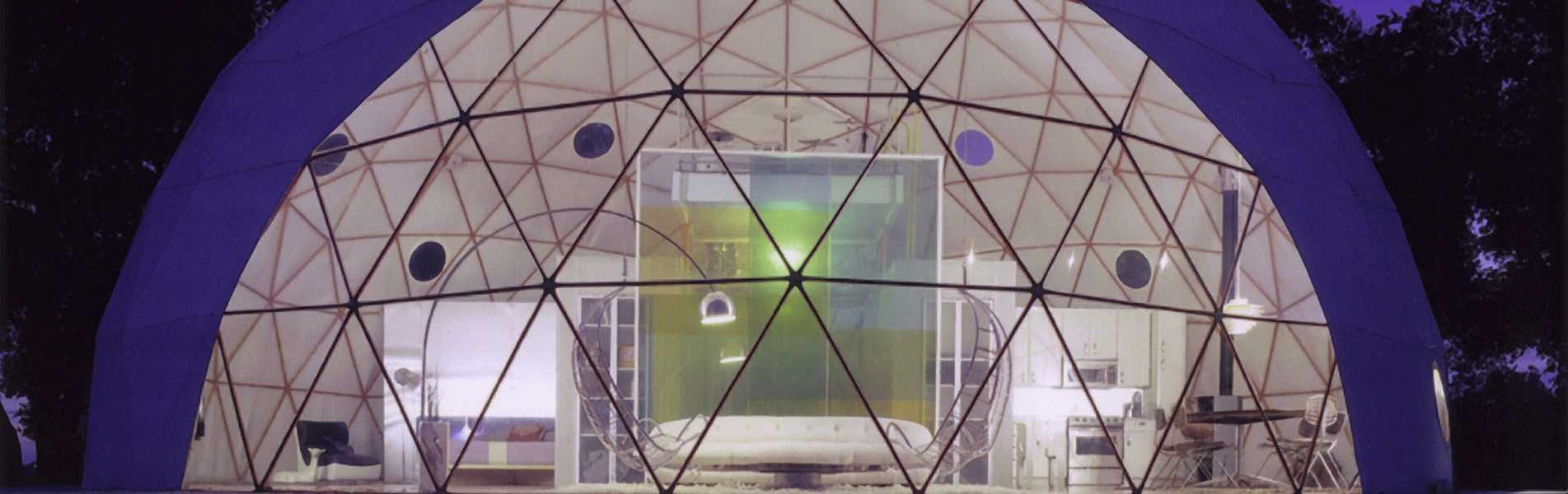44ft Geodesic Dome Home