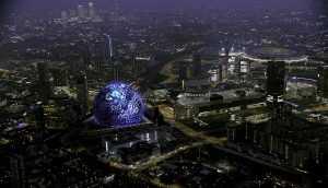 Madison Square Gardens Dome - London