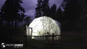 Aeroponic Greenhouse Dome
