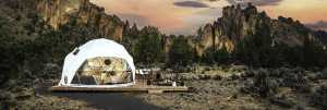 Glamping Dome in the high desert