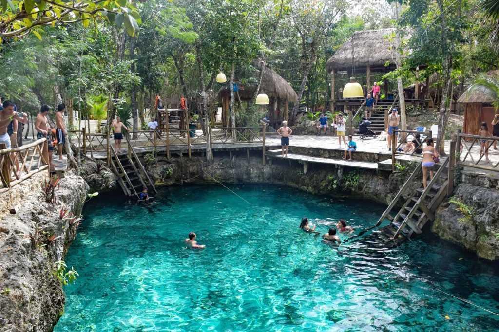 Mexico, glamping resort